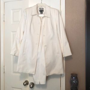 Style & co off white 12p suit